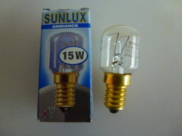 Kühlschrank Glühbirne : Philips sunlux backofen kühlschrank lampe glühbirne e14 t17 t25 m 5w