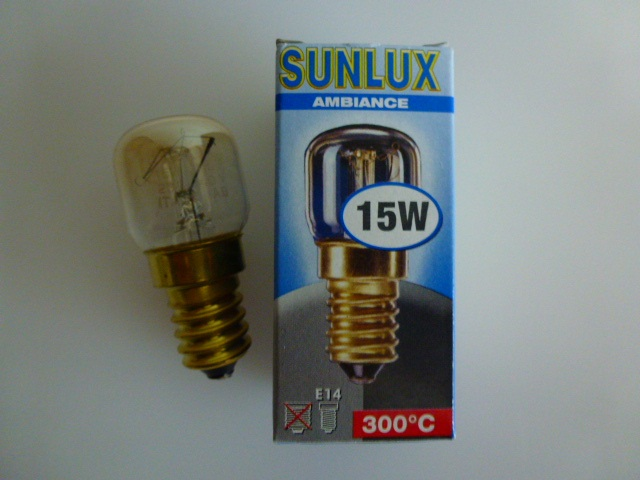 Kühlschrank Birne 15w : Philips sunlux backofen kühlschrank lampe glühbirne e t t m