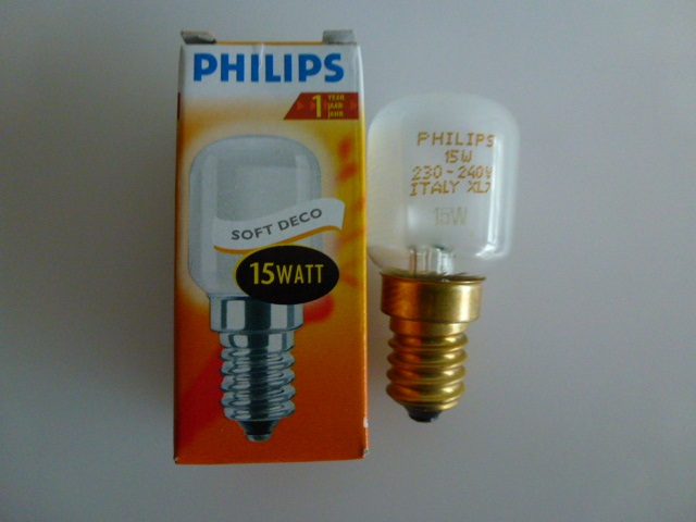 philips sunlux backofen kühlschrank lampe glühbirne e14  ~ Backofen Constructa Lampe Wechseln